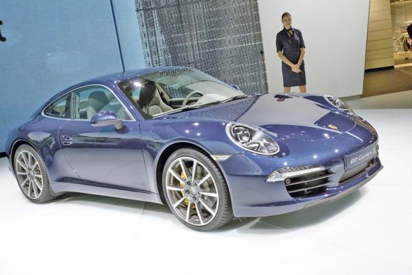 Франкфуртский автосалон-2011: Porsche