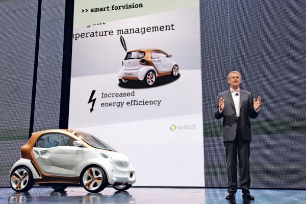 Франкфуртский автосалон-2011: Smart