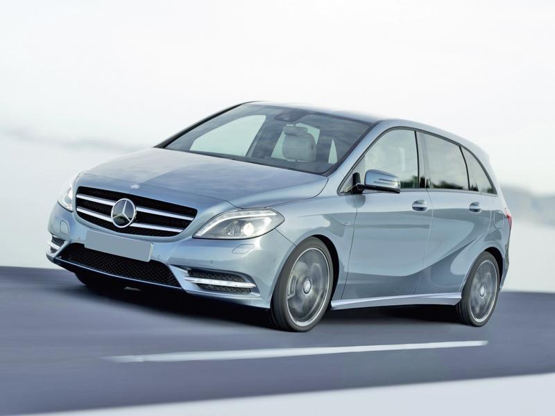 Mercedes-Benz B-Class: преобразование