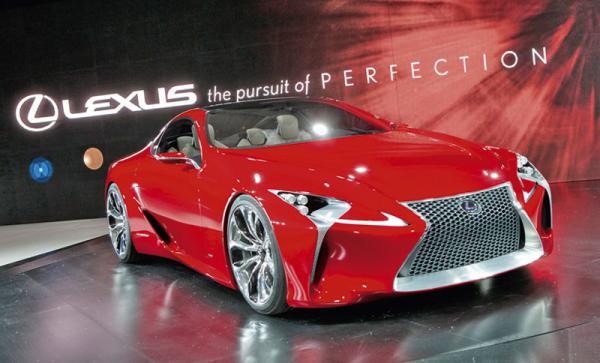 Детройтский автосалон-2011: Lexus