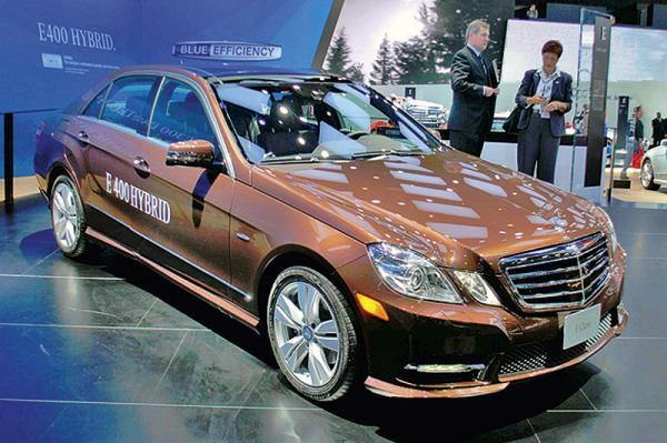Детройтский автосалон-2011: Mercedes-Benz