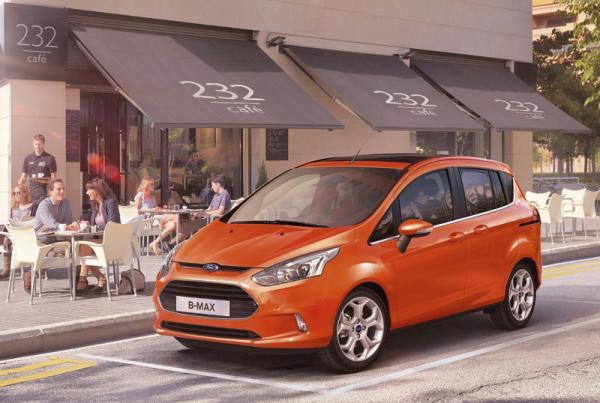 Ford представит минивэн B-Max
