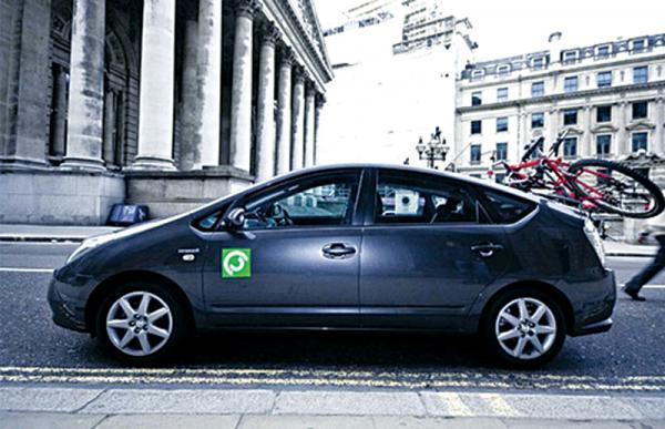 В Лондоне появилась первая в мире экослужба такси