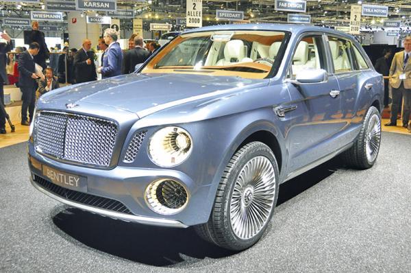 Женевская весна-2012: Bentley