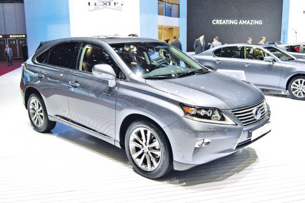 Женевская весна-2012: Lexus