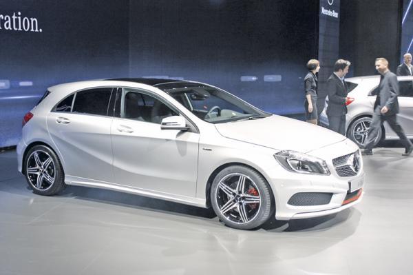 Женевская весна-2012: Mercedes-Benz