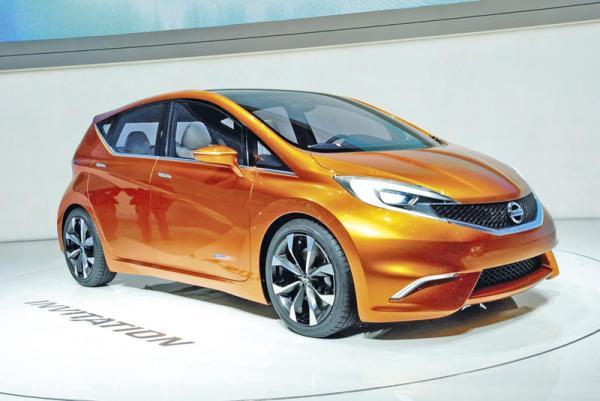 Женевская весна-2012: Nissan