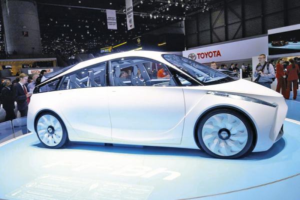 Женевская весна-2012: Toyota