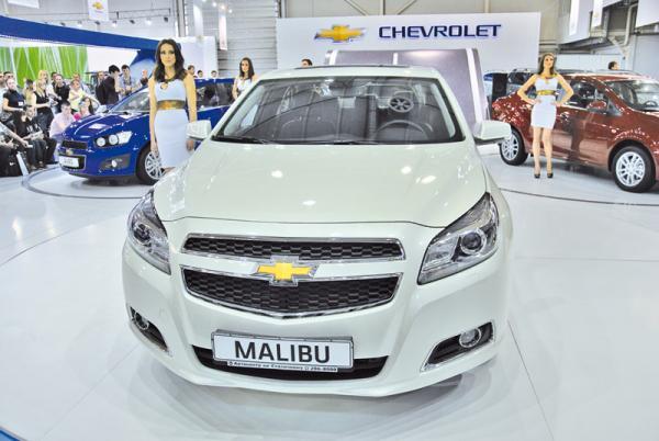 Sia-2012: Chevrolet