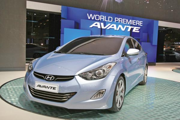 Hyundai Avante прошел обновление
