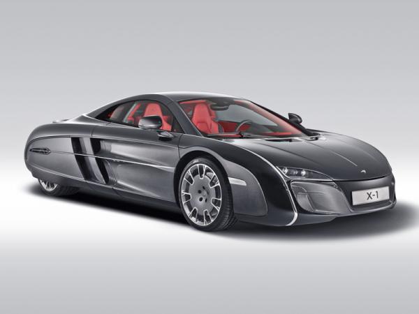 McLaren X1: единственный в своем роде