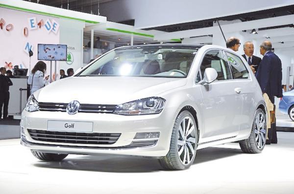На украинском рынке стартовали продажи нового VW Golf