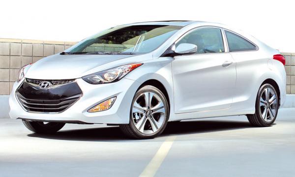 Hyundai Elantra Coupe: доступное купе