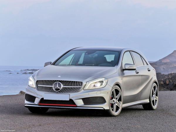 Краш-тест: Mercedes-Benz A-Class