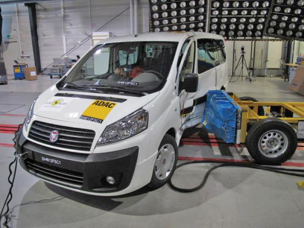Краш-тест: Fiat Scudo