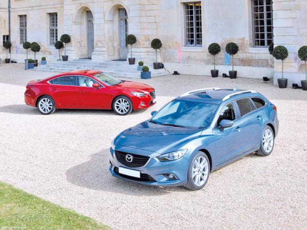 Mazda 6: третья инкарнация