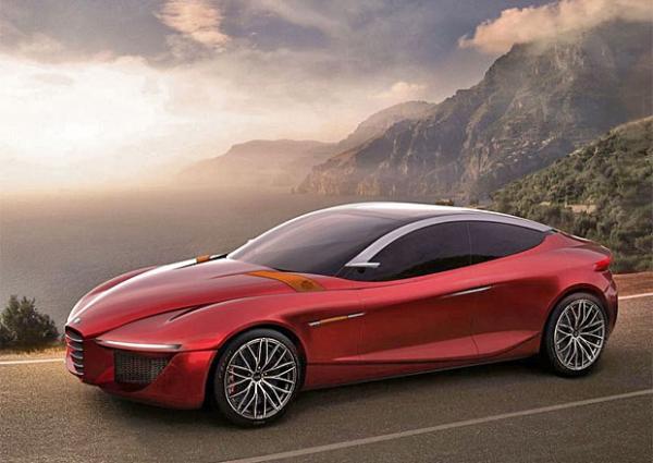 Alfa Romeo представит седан, разработанный студентами