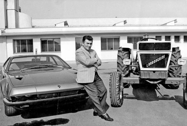 Lamborghini: полвека мощи и эпатажа