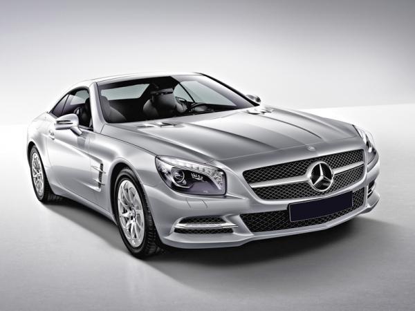 Mercedes-Benz SL: роскошный и спортивный