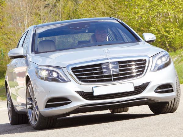 Mercedes-Benz S-Class: новый стандарт в представительском классе