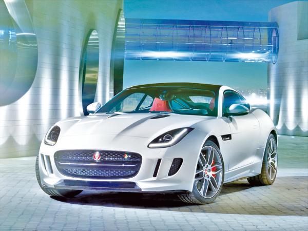 Jaguar F-Type Coupe: современная классика