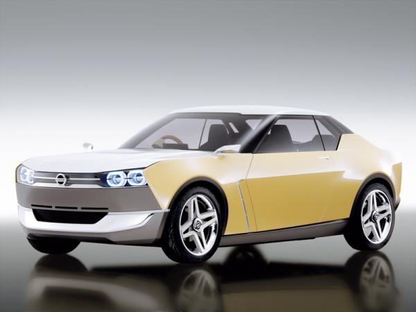 Nissan IDx Freeflow можно отличить по четырем круглым фарам