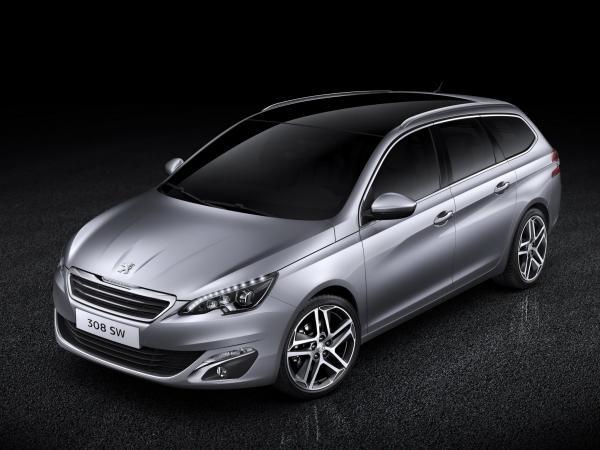 В Peugeot показали универсал 308 SW