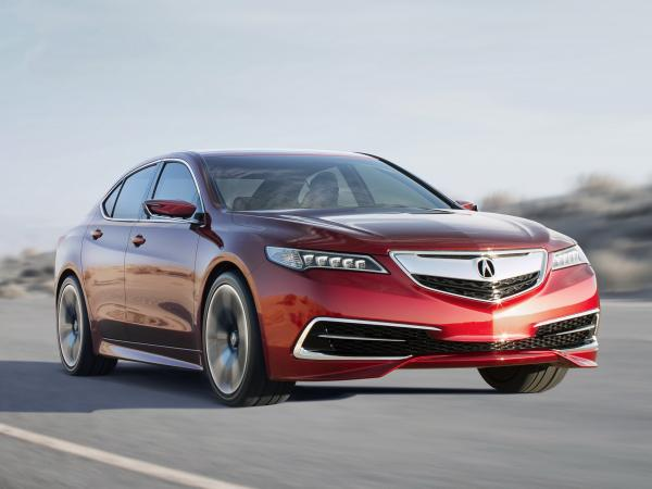 Acura TLX: почти серийный