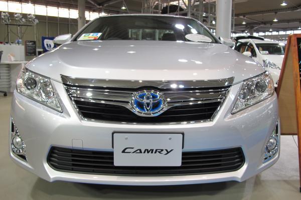 Toyota Camry получит новый дизайн