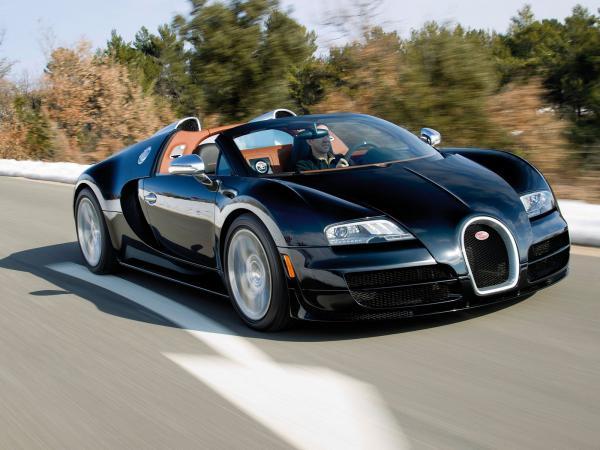 Bugatti выпустила спецверсию Grand Sport Vitesse
