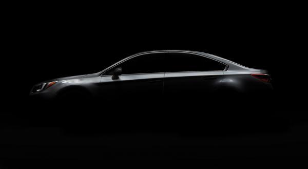 Новый Subaru Legacy представят в Чикаго