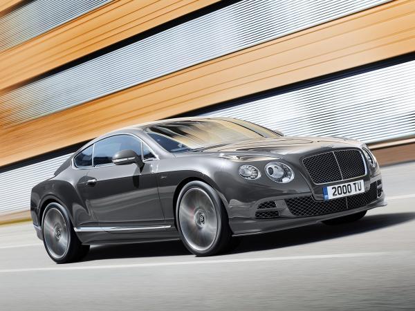 Самый быстрый Bentley