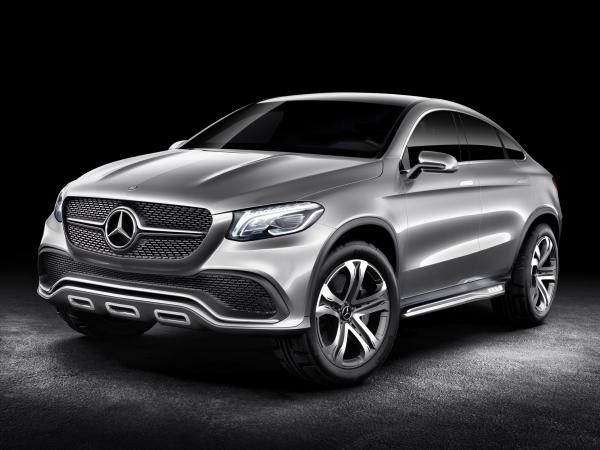Вседорожное купе Mercedes-Benz Concept Coupe SUV