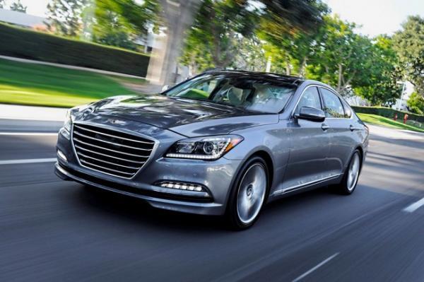 Новый Hyundai Genesis скоро приедет в Украину