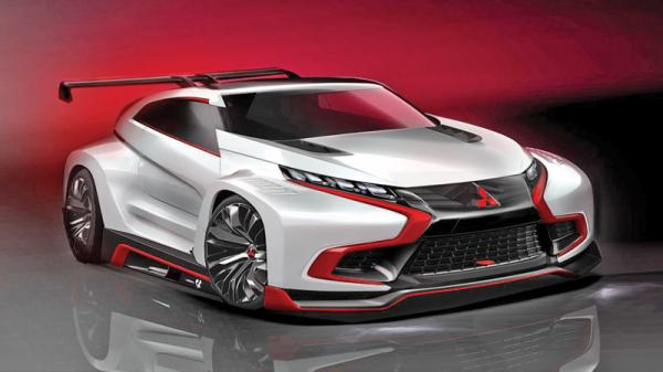Mitsubishi XR-PHEV Evolution Vision Gran Turismo: автомобиль из виртуальной реальности