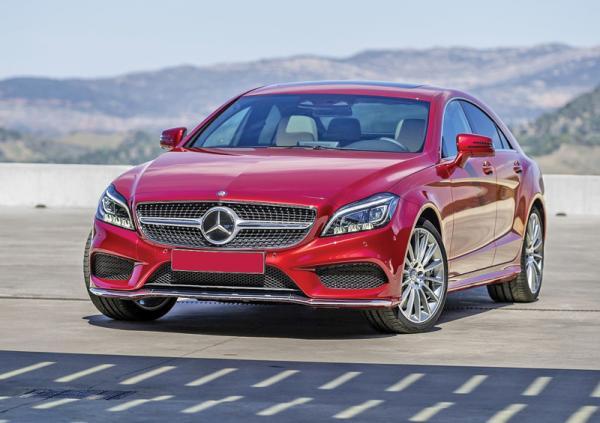 Mercedes-Benz CLS: модернизация