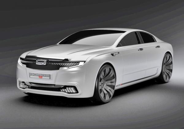 Qoros 9 Sedan: взгляд в будущее