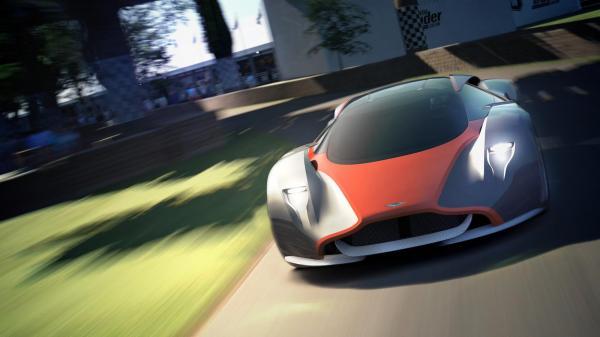 Aston Martin для компьютерной игры