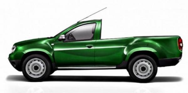 В линейке Renault может появиться бюджетный пикап