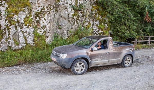 Пикап Dacia Duster проходит тесты