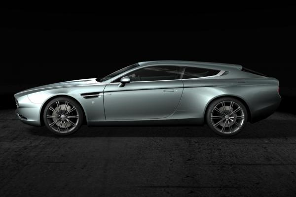 Aston Martin Virage Shooting Brake Zagato - единственный в своем роде
