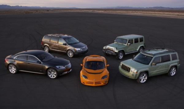 Chrysler отзывает около 185 000 вседорожников