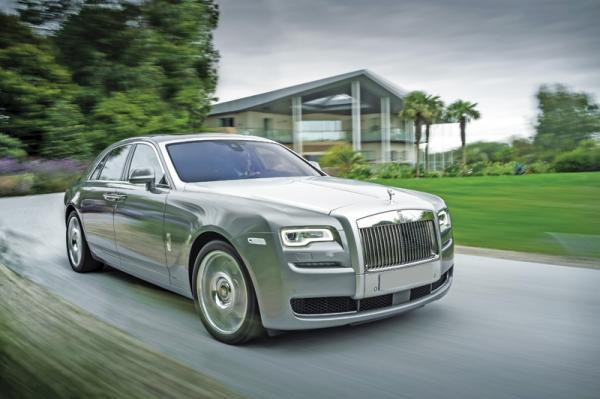 """Rolls-Royce Ghost Series II: освеженный """"призрак"""""""