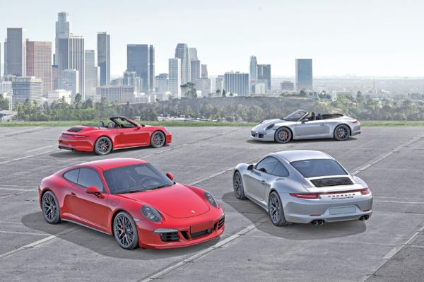 Porsche 911 GTS: прибавка в мощности