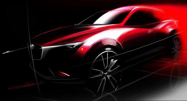 Mazda CX-3 представят в Лос-Анджелесе