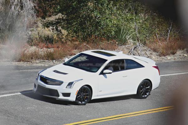 Cadillac готовит заряженный ATS-V