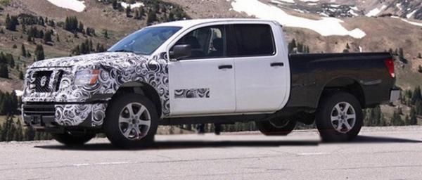 Nissan обновляет пикап Titan