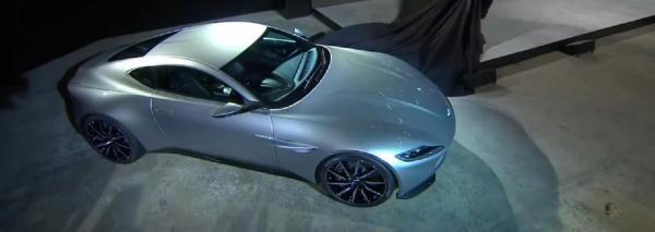Aston Martin DB10 для Джеймса Бонда