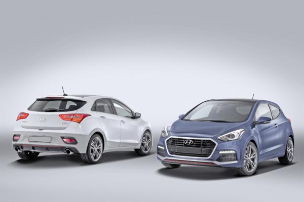 Hyundai i30: легкое обновление
