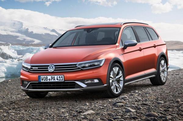 Volkswagen Passat Alltrack покажут в Женеве